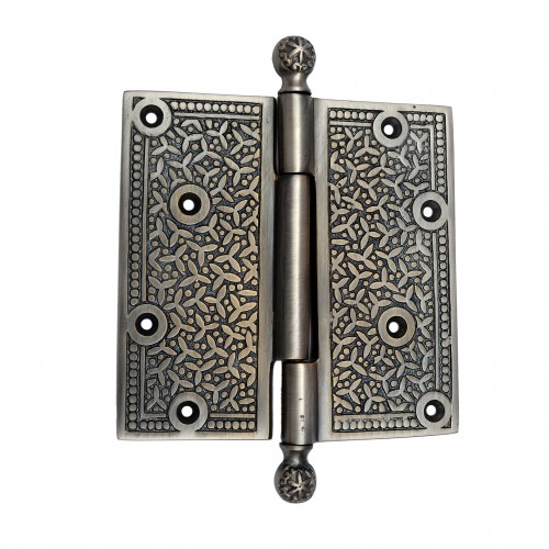 103mm x 114mm Brass Decorative Hinge