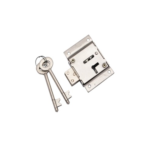 "3"" Double Working Zinc Cupboard Locks"