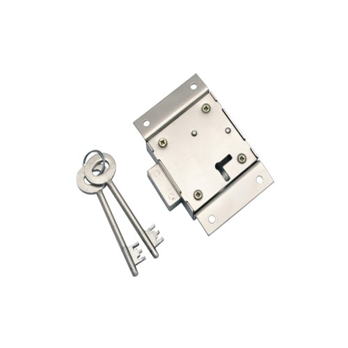 "4"" Double Working Zinc Cupboard Locks"