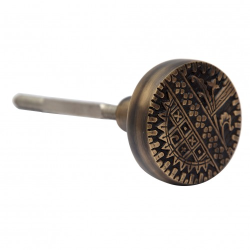 """Immanuel"" Brass Door Knob"