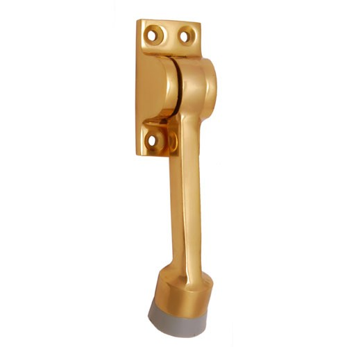 Kick Down Brass Door Stopper