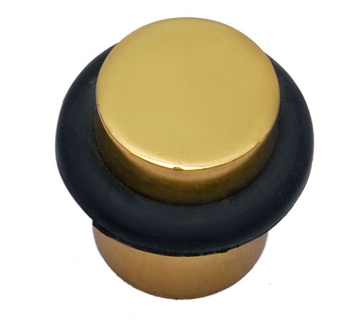 Round Brass Door Stopper
