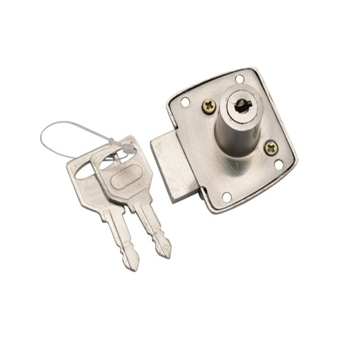 """Bunni"" Single Working Zinc Drawer Lock"