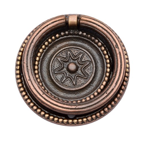 """Bernice"" Brass Decorative Drop Pull"