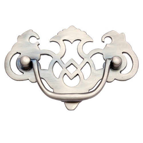 """Eneas"" Brass Decorative Drop Pull"