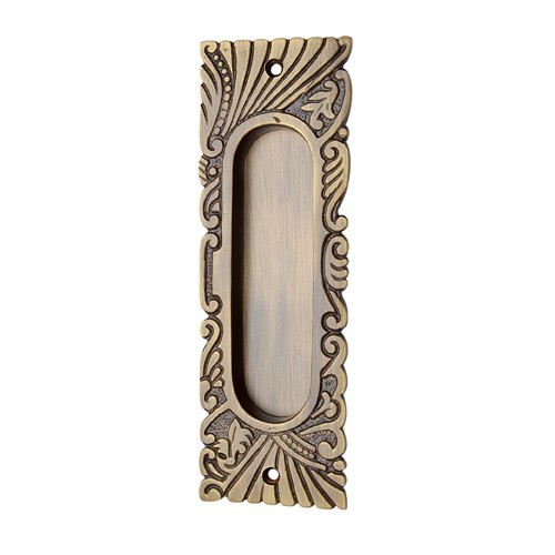 "155mm ""Hazaiah"" Brass Decorative Flush Pull"