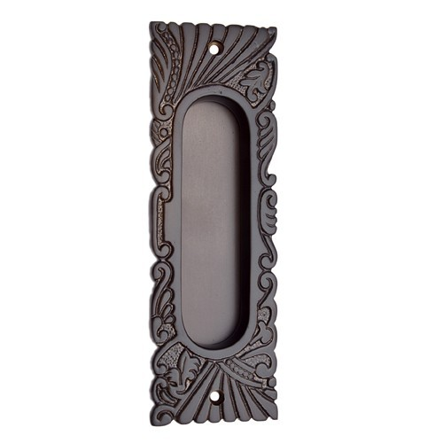 "155mm ""Hazaiah"" Silicon Bronze Decorative Flush Pull"