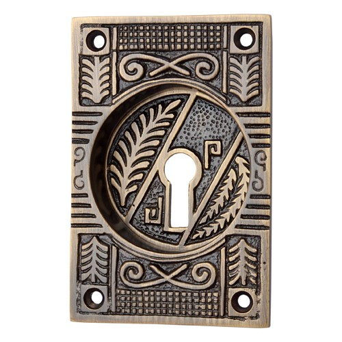 """Mahavites"" Brass Decorative Flush Pull"