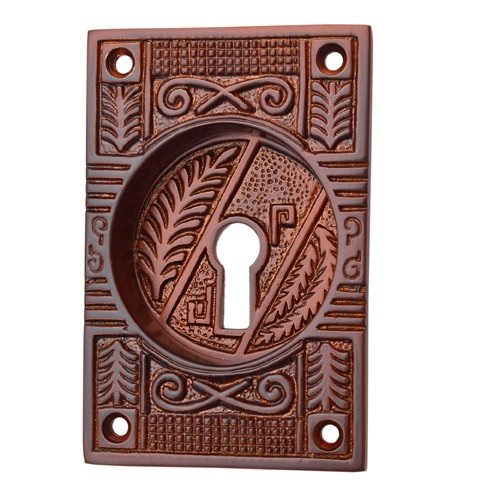 """Mahavites"" Silicon Bronze Decorative Flush Pull"