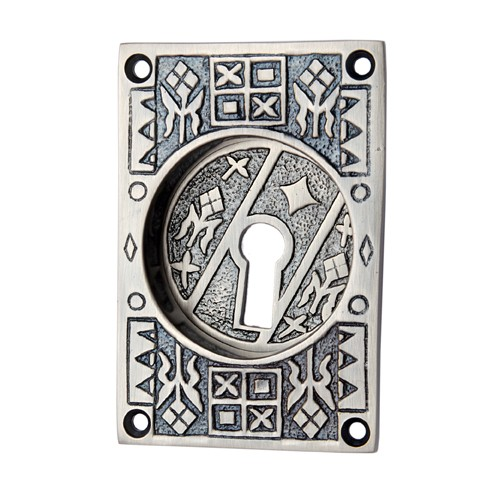 """Nahath"" Brass Decorative Flush Pull"