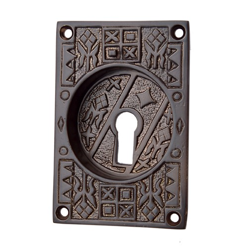 """Nahath"" Silicon Bronze Decorative Flush Pull"