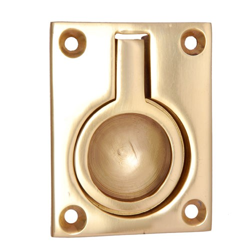 Regular Brass Flush Pull