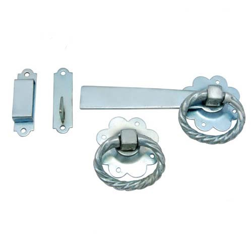 Twisted Ring MS Gate Latch