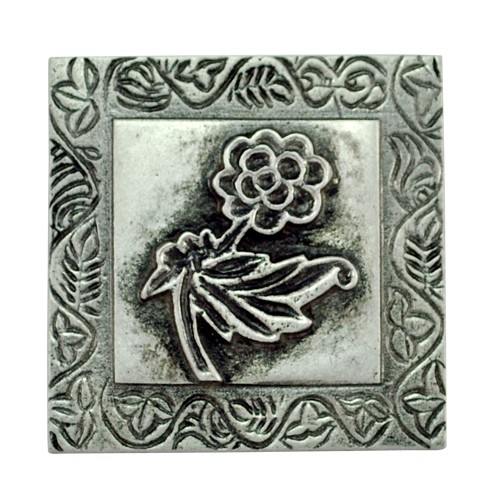 "2.50"" ""Flower"" Aluminium Wall Tiles"
