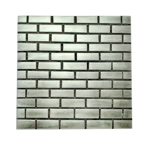 "4"" ""Bricks"" Aluminium Wall Tiles"