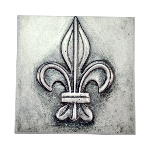"4"" ""Decorative Sign"" Aluminium Wall Tiles"