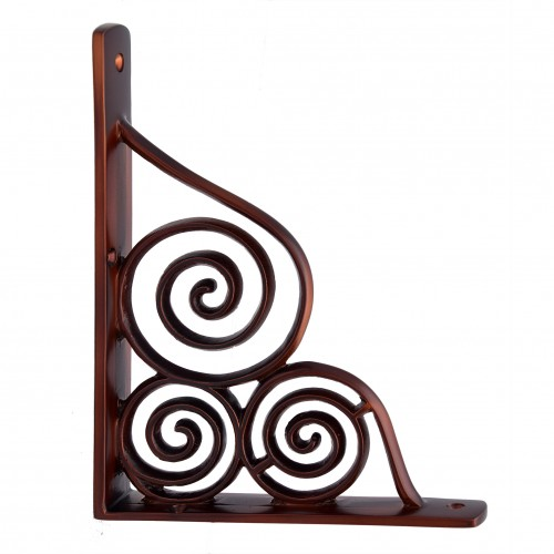 """Gilboa"" Silicon Bronze Shelf Bracket"