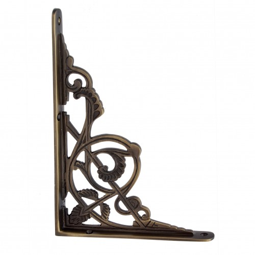 """Maasiai"" Brass Shelf Bracket"