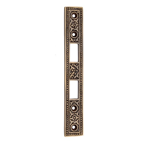 154mm Brass Mortise Strike Plate