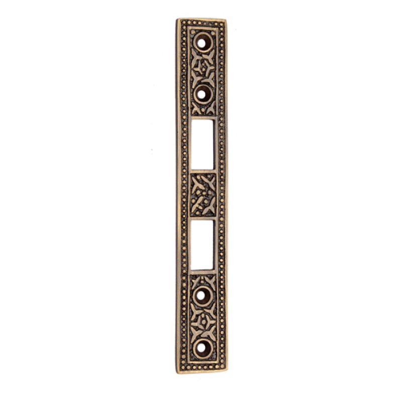 Best 154mm Brass Mortise Strike Plate Adonai Hardware