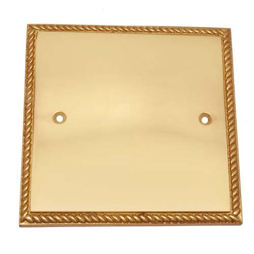 Georgian Brass Switch Plate without Cutout