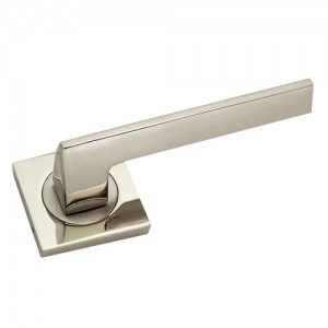 """Gibbethon"" Zinc Handle with Rose"