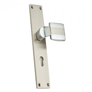 """Binea"" Zinc Handle with Back Plate"