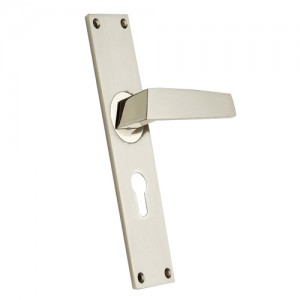 """Chebar"" Zinc Handle with Back Plate"