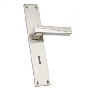 """David"" Zinc Handle with Back Plate"