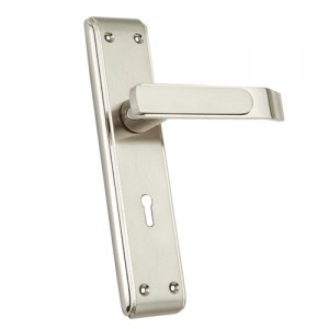 """Hachmoni"" Zinc Handle with Back Plate"