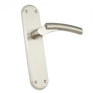 """Kadesh"" Zinc Handle with Back Plate"