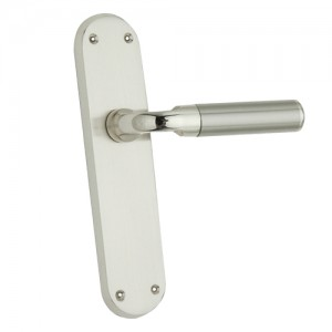 """Keiiah"" Zinc Handle with Back Plate"
