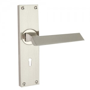 """Magbish"" Zinc Handle with Back Plate"