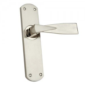 """Nagge"" Zinc Handle with Back Plate"