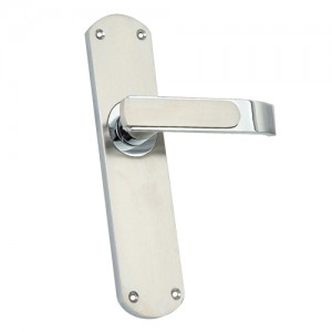 """Naphish"" Zinc Handle with Back Plate"
