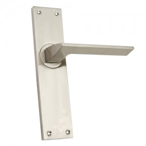 """Padon"" Zinc Handle with Back Plate"