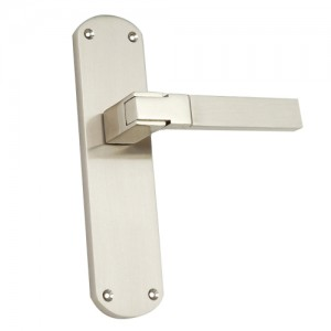 """Palal"" Zinc Handle with Back Plate"