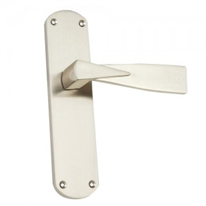"""Pamphylia"" Zinc Handle with Back Plate"