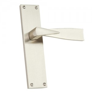 """Raca"" Zinc Handle with Back Plate"