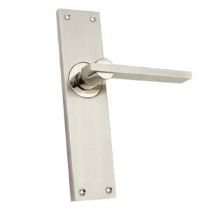 """Regem"" Zinc Handle with Back Plate"