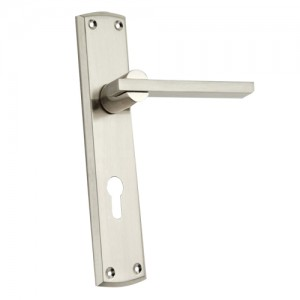 """Sabeans"" Zinc Handle with Back Plate"