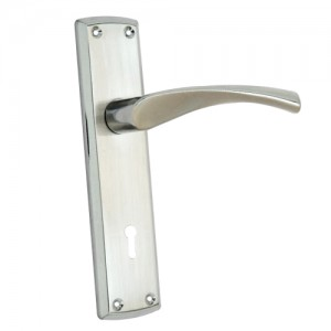 """Tabbath"" Zinc Handle with Back Plate"