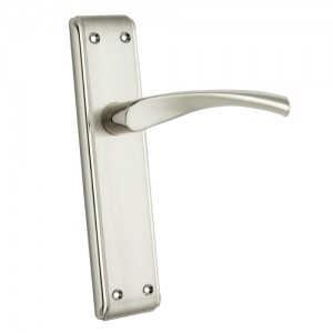 """Tadmor"" Zinc Handle with Back Plate"