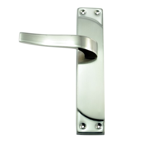 """Artemas"" Zinc Door Handle with SS Plate"