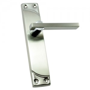 """Elim"" SS Door Handle with SS Plate"